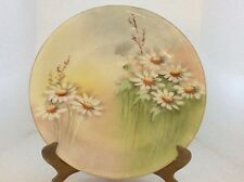 Vintage  D.C. Limoges Porcelain Plate With Small White Daisies - France
