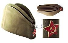 UdSSR CCCP Rote Armee Uniform - Mütze Käppi +Stern Gr. 55 (o.a.w. 54 56 57 58 59