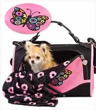DOG CARRIER PET CARRIER AIRLINE APPROVED DOG HAND BAG PETS TO 10 LBS MADE IN USA