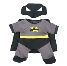 "BATMAN BAT BEAR  CUDDLES TEDDY CLOTHES FITS 15""-16"" (40cm) BUILD A BEAR"