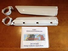 Yamaha YZ125 YZ250 WR500 YZ 125 250 1991 92 93 94 95 Fork Guards WHITE NEW!