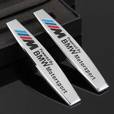 2pcs 3D Metall Auto Schriftzug Aufkleber Emblem für Schutzblech M Power sports