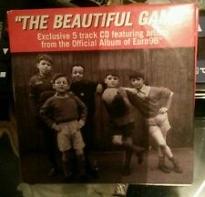 """The Beautiful Game"" Exclusive 5 track CD - Official Album of Euro 96"