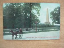 VINTAGE POSTCARD - PHOENIX PARK AND WELLINGTON MONUMENT - DUBLIN