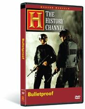 MODERN MARVELS- BULLETPROOF (HISTORY CHANNEL DOCUMENTARY) NEW AND SEALED