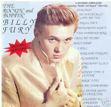 BILLY FURY - The Rockin and Boppin Billy Fury - Rare CD