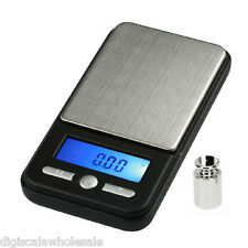 AWS AC-100 Reloading Powder Grain Pocket Scale 1543gn x 0.5gn +100g Cal Weight