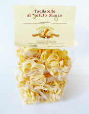 Trüffel Pasta Nudeln weiße Trüffelnudeln original aus Italien Tagliatelle 500g !