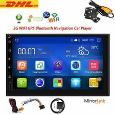 "Quad Core Android 5.1 3G WIFI 7""Double DIN GPS Navi Car Stereo Autoradio Player"