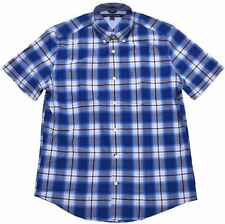 Tommy Hilfiger Mens Short Sleeve Classic Fit Button Down Shirt - Size M