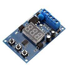 LED Digital MOS Control Delay/Relay Cycle Timer Module Switch DC 12/24V GA9B