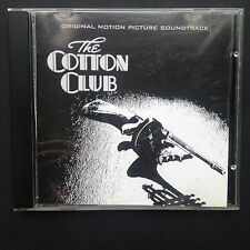 Rare! John Barry COTTON CLUB Jazz Film Score OST CD 1984 Richard Gere Diane Lane