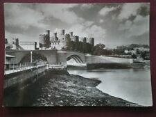 POSTCARD RP CAERNARVONSHIRE CONWAY CASTLE FROM NE ACROSS THE RIVER