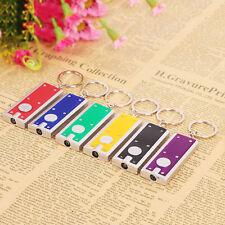 5stk LED Schlüsselanhänger Mini Taschenlampe Schlüsselleuchte Geschenk