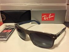 New Ray-Ban RB4226 61898G Top Matte Choccolate On Blue / Grey Gradient Lens