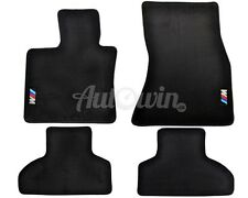 BMW X5 Series F15 X5M Series F85 Floor mats With M Emblem LHD Side Clips