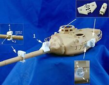 Djiti's 1/35 French DX 175 Tank Firing Simulator AMX-30B AMX-30B2 AMX-10RC 35057