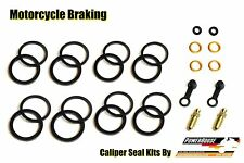 Honda CBR 600 RR 05 06 07 08 front radial brake caliper seal repair rebuild kit