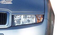 RDX Scheinwerferblenden Skoda Fabia 1 / 6Y Böser Blick ABS Blenden Spoiler