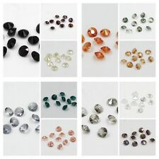 "120  pieces Swarovski 8mm side hole ""Diamond shape"" Crystal bead A Mixed colored"