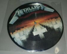 "Metallica Master of Puppets 7"" Pic Disc import"