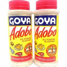 GOYA ADOBO ALL PURPOSE SEASONING WITH PEPPER -CON PIMIENTA (PACK 2)  28 OZ