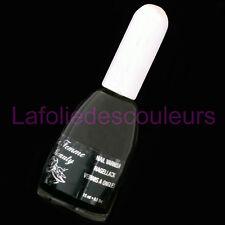 Vernis à ongles noir 15ml - Ebony de La Femme (29) black nail varnish -  polish
