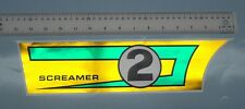 Sears Screamer 2 chain guard decal