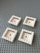 Lego White Cockpit 6x6 Parts Lot of 4 Pieces Star Wars SW Space