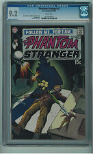 PHANTOM STRANGER #9 CGC 9.2 SCARCE IN HIGH GRADE WHITE PAGES BRONZE AGE