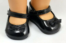 good hot sell fashion black shoes for 18inch American girl doll party b314