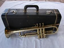 VINTAGE 1947 BUESCHER ARISTOCRAT MODEL 205 TRUMPET - FREE SHIPPING USA ONLY