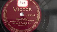 Richard Crooks– 10-inch 78rpm – Victor V.E. #1691