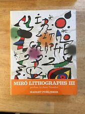 JOAN MIRO, LITHOGRAPHIE VOLUME III , 1964-1969  original 5 Lithographs inside