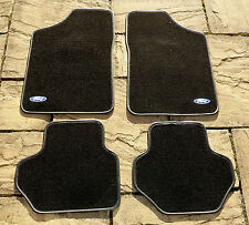 "FORD FIESTA MK1 & MK2 NEW OVERMAT CARPET SET WITH ""FORD"" LOGOS"