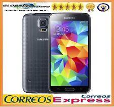 SAMSUNG GALAXY S5 G900f 4G LTE NEGRO LIBRE NUEVO TELEFONO MOVIL SMARTPHONE