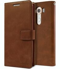 Double Slot Flip book [Multi Slots] Leather Wallet Case For Samsung Apple LG