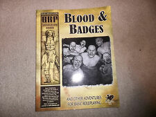 Basic Roleplaying Monograph Blood & Badges