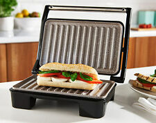 SALTER HEALTH GRILL & PANINI MAKER WITH MARBLE NON-STICK SURFACE NO NEED FOR OIL