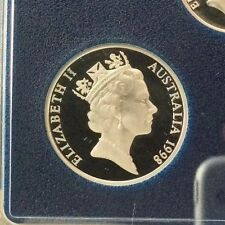 1998 20 cent Proof coin ex proof set in 2 x 2