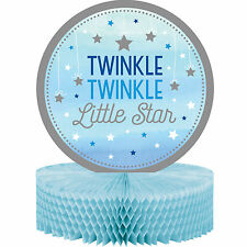 """12"""" Twinkle Little Star Birthday Party Table Honeycomb Centerpiece Decoration"""