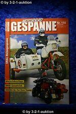 Motorrad Gespanne Nr.114 6/09 BMW Gasantrieb Honda GL Winterfahrertips