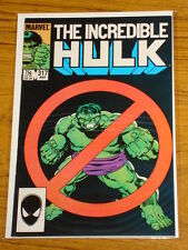 INCREDIBLE HULK #317 VOL1 MARVEL COMICS MARCH 1986