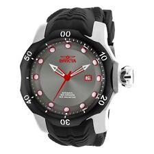 Invicta Venom Automatic 52mm Black Dial Black Silicone Men's Watch 19311