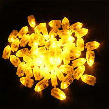 50pcs LED Balloon Light Lamp for Paper Lantern Wedding Party Christmas Gifts