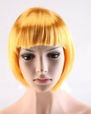 Stylish Short Bob Hair Wig Women Lady Straight Cosplay Party Synthetic Wigs Pink