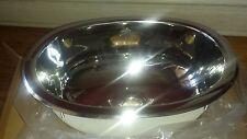 Elkay SCF1611SM  Bathroom Sink Mirror Stainless Steel Undermount-Drop-In Oval