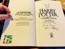 RARE 1ST/1ST J.K. ROWLING SIGNED HARRY POTTER AND THE CURSED CHILD AUTHENTICATED