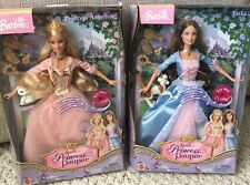 Erika Barbie Doll Anneliese Princess and the Pauper Singing  Cats Lot 2 VG