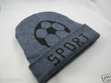 A23:New Imported Unisex Beanie Hat/Bonet-Gray